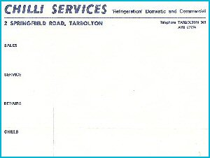 Photo of Chilli First Invoice
